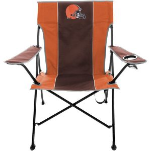 Cleveland Browns Historic logo Tailgate Quad Chair with Click & Carry Strap