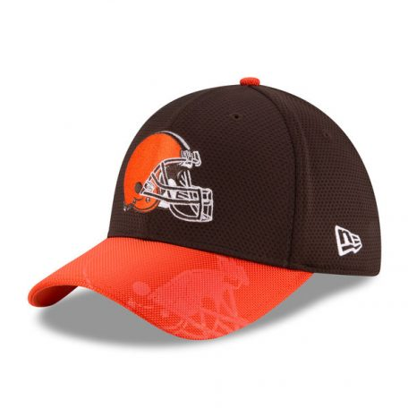Cleveland Browns New Era Sideline Official 39THIRTY Flex Hat – Brown