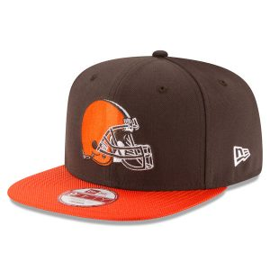 Cleveland Browns New Era Sideline Original Fit 9FIFTY Snapback Adjustable Hat – Brown