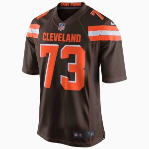 Men's Cleveland Browns Joe Thomas Nike Brown Game Jersey