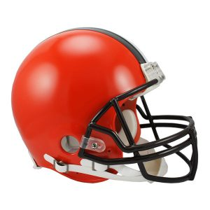 Riddell Cleveland Browns VSR4 Full-Size Authentic Football Helmet