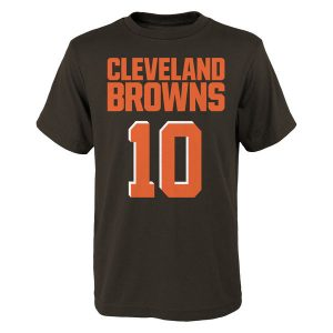 Robert Griffin III Cleveland Browns Youth Mainliner Name & Number T-Shirt