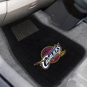 Cleveland Cavaliers 2-Piece Embroidered Car Mat Set