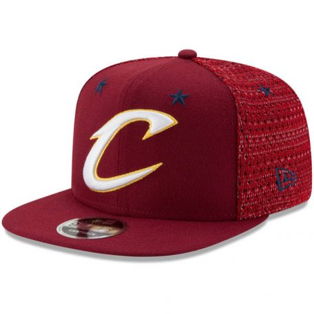 Cleveland Cavaliers New Era 2017 All-Star Game Starry Halo 9FIFTY Snapback Adjustable Hat – Wine