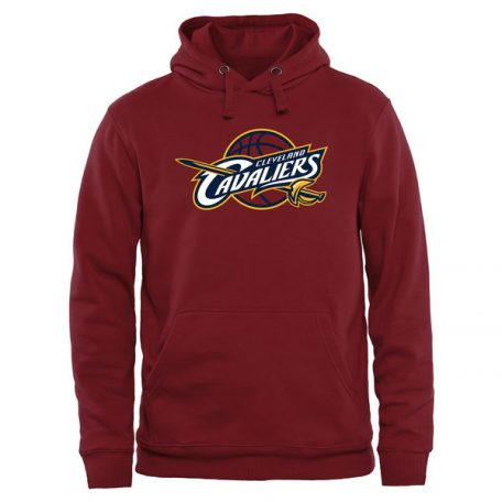 Cleveland Cavaliers Primary Logo Pullover Hoodie – Wine