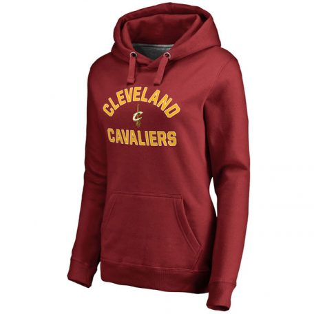 Cleveland Cavaliers Women's Overtime Pullover Hoodie – Maroon