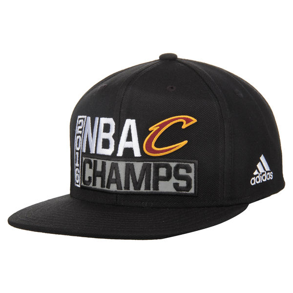 878c8bb1d18a02 Cleveland Cavaliers adidas 2016 NBA Finals Champions Locker Room Snapback  Adjustable Hat – Black