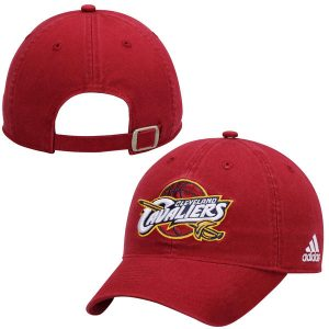 Cleveland Cavaliers adidas Slouch Adjustable Hat – Wine