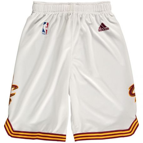 Cleveland Cavaliers adidas Youth Replica Shorts – White