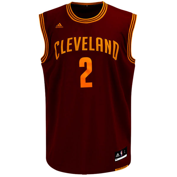 low priced e96ed e510b Kyrie Irving Cleveland Cavaliers adidas Replica Road Jersey - Wine