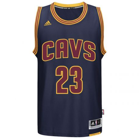 LeBron James Cleveland Cavaliers adidas Player Swingman Jersey – Navy