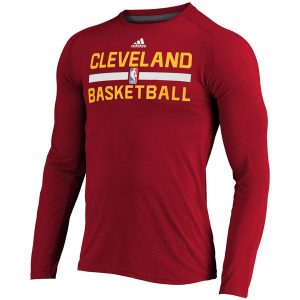 Men's Cleveland Cavaliers adidas 2016 Long Sleeve T-Shirt