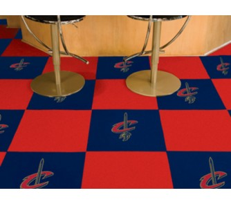 Easy Installation Cleveland Cavs Flooring for Man Caves
