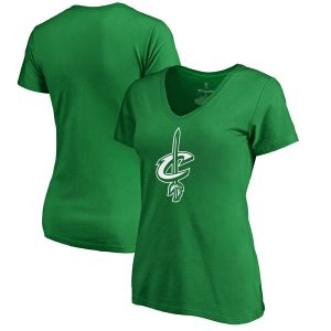 Cleveland Cavaliers Women's Kelly Green St. Patrick's Day T-Shirt