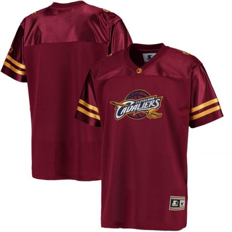 Cleveland Cavaliers G-III Sports by Carl Banks Football Jersey – Wine