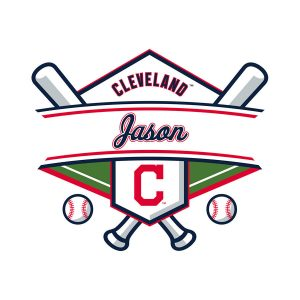 Cleveland Indians Personalized Name