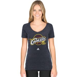 Women's Cleveland Cavaliers Adidas V-Neck T-Shirt