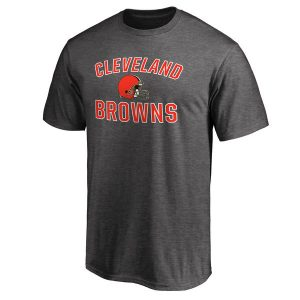 Cleveland Browns Pro Line Victory Arch T-Shirt – Gray