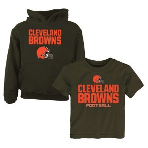 Cleveland Browns Toddler T-Shirt & Hoodie Set
