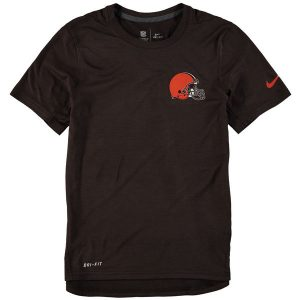 Youth Cleveland Browns Nike Brown Touch Performance T-Shirt