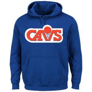 Cleveland Cavaliers Majestic Hardwood Classics Pullover Hoodie