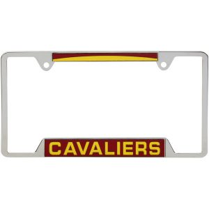 Cleveland Cavaliers WinCraft 4-Tab Style Inlaid Metal License Plate Frame