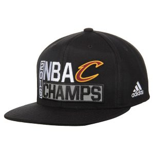 Cleveland Cavaliers adidas 2016 NBA Finals Champions Snapback Adjustable Hat – Black