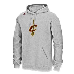 LeBron James Cleveland Cavaliers adidas Pullover Hoodie – Gray