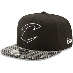 Men's Cleveland Cavaliers New Era Black Multi-Star 9FIFTY Snapback Adjustable Hat