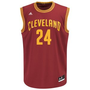 Men's Cleveland Cavaliers Richard Jefferson adidas Wine Replica Jersey