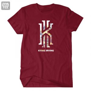 New KYRIE IRVING  t-shirt  casual short tees Cleveland CAVS