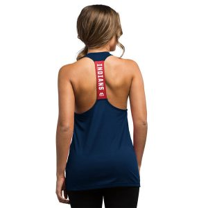 Women's Cleveland Indians Training Tank Top